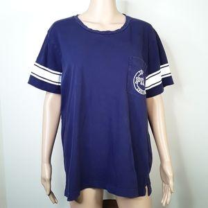 Victoria Secret PINK Love Short Sleeve Shirt Top L